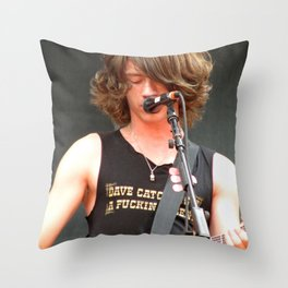 Alex Turner // Arctic Monkeys Throw Pillow