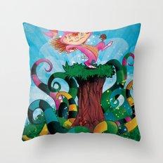 sTROLL Throw Pillow
