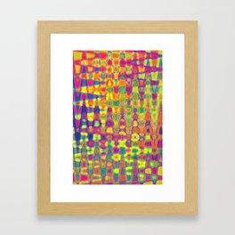 Interdependency in Infinity (ID196) Framed Art Print