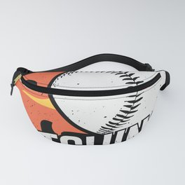 I'd Rather Be Pitching Baseball Pitcher Gift Fanny Pack
