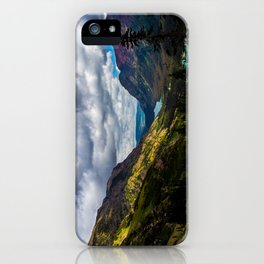The valley and beyond iPhone Case