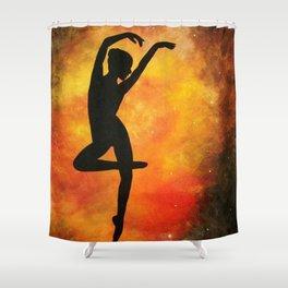 Heavenly Dancer Shower Curtain
