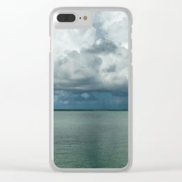 Heavy clouds Clear iPhone Case