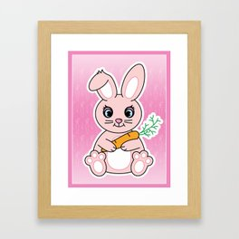 Little Miss Jumpfoot Framed Art Print