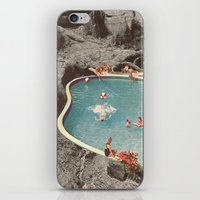 eddie vedder iPhone & iPod Skins featuring is this the place that they call paradise? by Jesse Treece