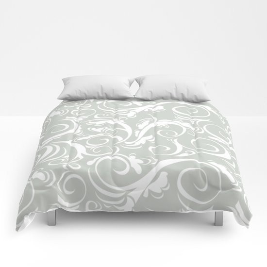 Floral Sea Salt Comforters