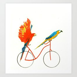 Reason SEVEN for using bike: Art Print