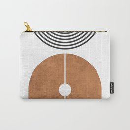 Ver Sacrum 2 - Minimal Geometric Abstract Carry-All Pouch