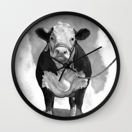 Welcome to the Pasture Wall Clock