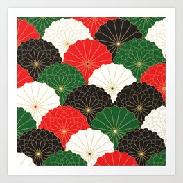 Japanese Chrysanthemum Art Print