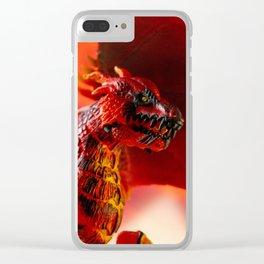 Fire 2 Clear iPhone Case