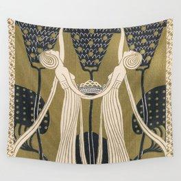 Art Nouveau Women Wall Tapestry