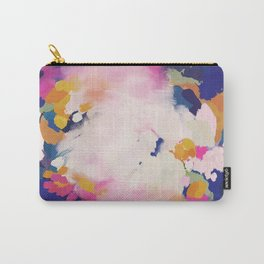 Colourful evening- abstract- blue, pink , orange Carry-All Pouch