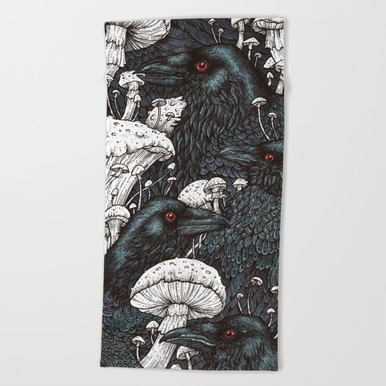 Decay Beach Towel