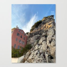 French Riviera Nice Canvas Print