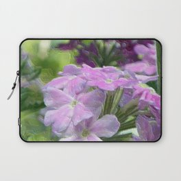 Verbena Floral Print Laptop Sleeve