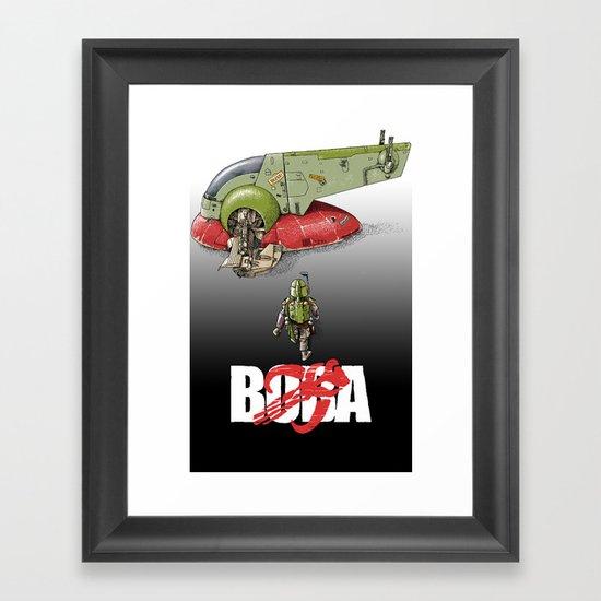 BobAkira  Framed Art Print