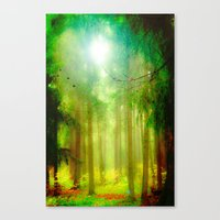 fairy tale Canvas Prints featuring Fairy tale by Armine Nersisian