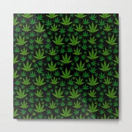 Infinite Weed Metal Print