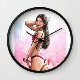 Jen Exerciselter Wall Clock