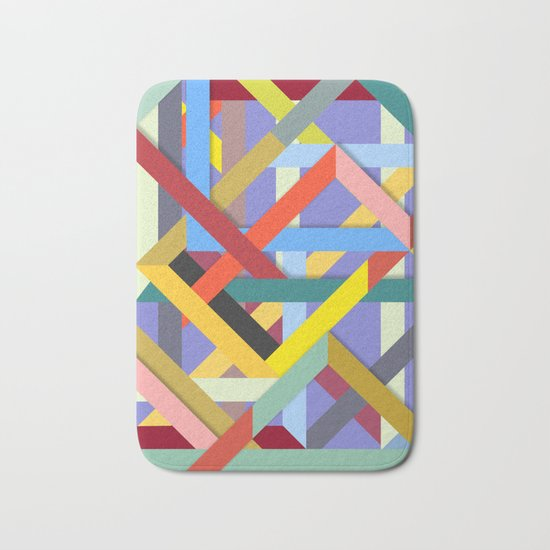 Abstract #225 Corners, Intersections & Dead Ends Bath Mat