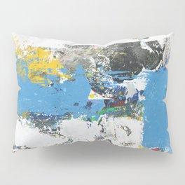 Crow Abstract Art Pillow Sham
