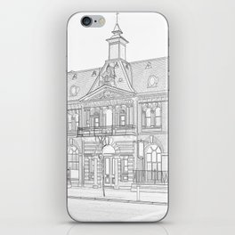 Bar Continental iPhone Skin