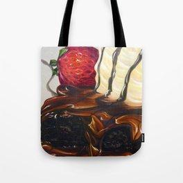 hot fudge brownie Tote Bag