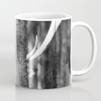 antler Mugs featuring Antler Tree by J Witt Photography