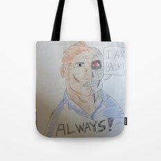 Bootleg Series: Cyborg Future Guy Tote Bag