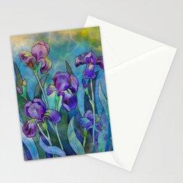 Fantasy Irises Stationery Cards