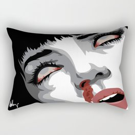 There goes mrs. Mia Wallace Rectangular Pillow