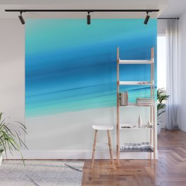 Turquoise Aqua Ombre Wall Mural