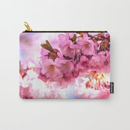 Pink Japanese Cherry Blossom, Sakura Carry-All Pouch
