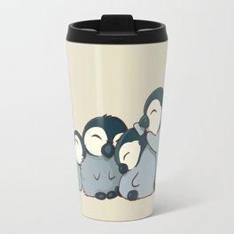 Pile of penguins Travel Mug