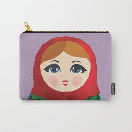 Matryoshka Polygon Art Carry-All Pouch