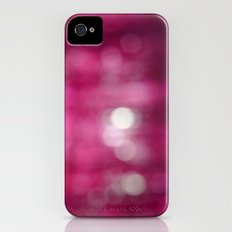 Pink Abstract iPhone (4, 4s) Slim Case