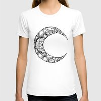 henna T-shirts featuring Henna Moon by Ava Elise
