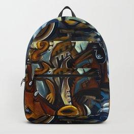Black Cat Jazz Backpack