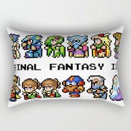 Final Fantasy II Characters Rectangular Pillow