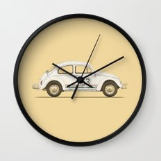 Famous Car #4 - VW Beetle Wall Clock