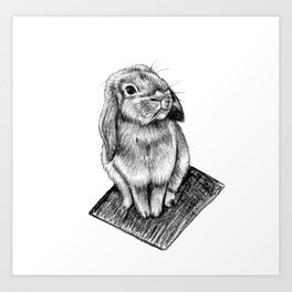 Bunny #5 Art Print