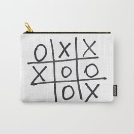 Tic tac toe, noughts and crosses game Carry-All Pouch