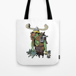 Goblin Boss Tote Bag