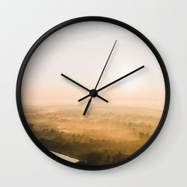 Kentucky Dawn from the Air Wall Clock