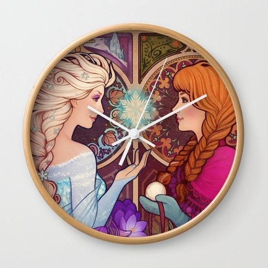 Let Me In Wall Clock