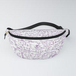 Physics Equations // Purple Fanny Pack