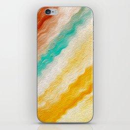 Southwest Windy Waves Stylized iPhone Skin