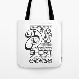 Short Term Goals Tote Bag