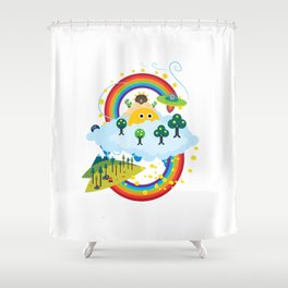 Mobile Developer's Guide to the Galaxy: New Year's Edition, September Shower Curtain